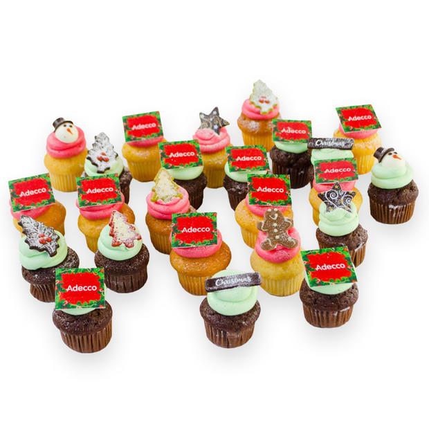 Mini Kerst Cupcakes