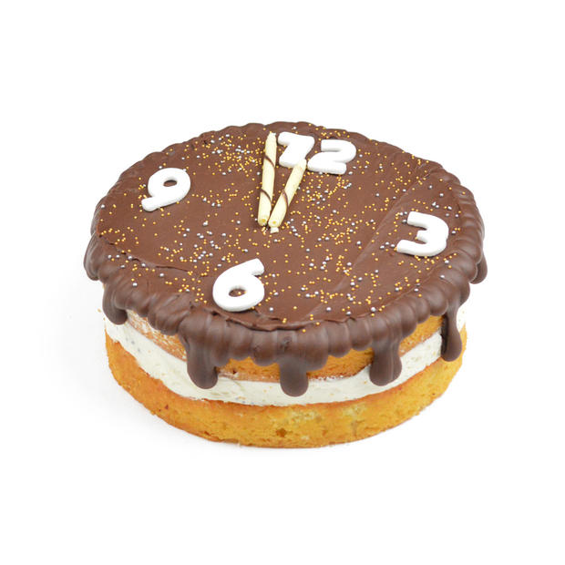 Nieuwjaar aftel taart