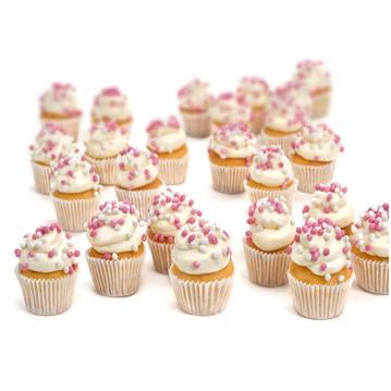 Geboorte cupcakes maken