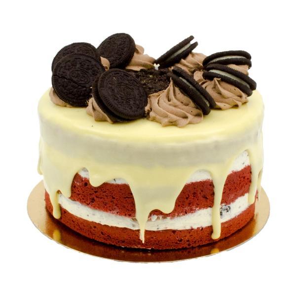 Oreo-Velvet Layer Cake