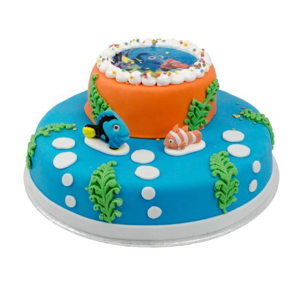 Nemo stapel taart