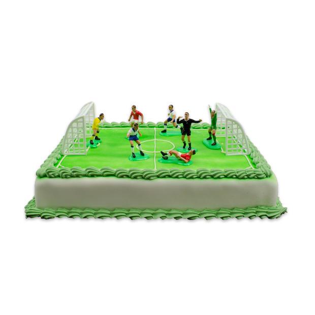 Voetbal Marsepein Taart
