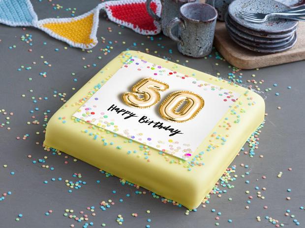 New 50-jaar Verjaardags Taart bestellen & bezorgen | gefeliciTAART.nl #CX99